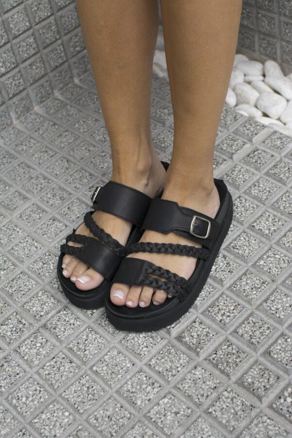 Sandalias CALU • Colores Suela Negro Nude • hambur 424 scaled